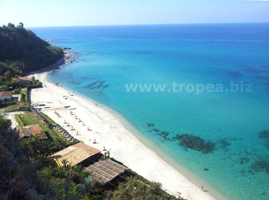 Spiagge a Capo Vaticano in Calabria
